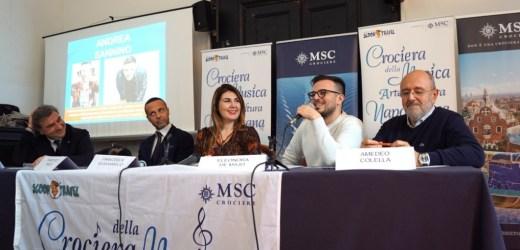 Tredicesima Crociera della Musica Napoletana. Dal 5 al 12 ottobre 2020 a bordo di MSC Grandiosa
