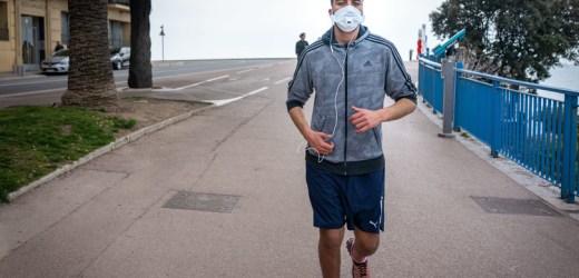 Via libera ai runners, ma con mascherina e fasce orarie