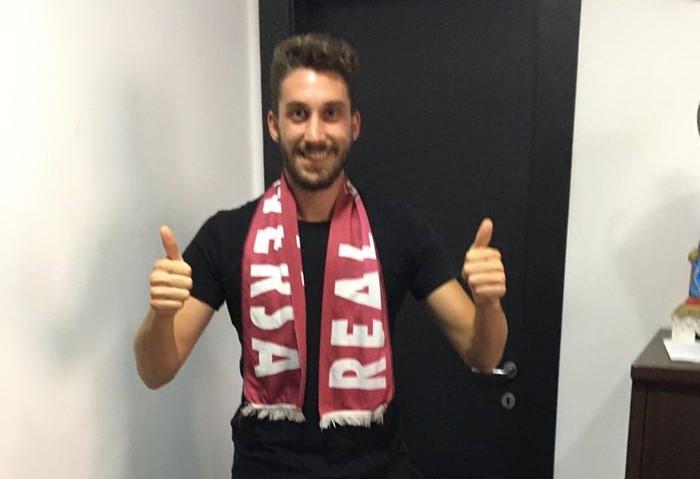 Bomber Simonetti firma con l'Agro Aversa, giocherà in serie D