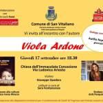 """Viola Ardone presenta il libro """"Il treno dei bambini"""" a San Vitaliano"""