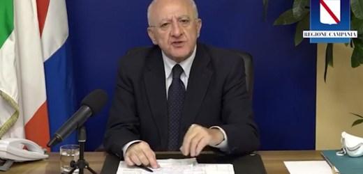De Luca: sull'ospedale di Nola decide la ASL Napoli 3 Sud