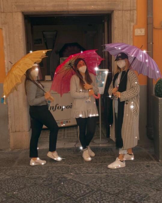 Tutero e ombrello, la tradizione in tempo di pandemia