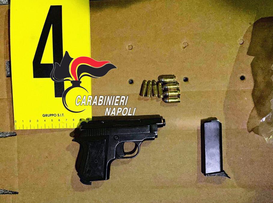 Nola: litiga con i vicini e spara con pistola clandestina. 57enne arrestato dai Carabinieri