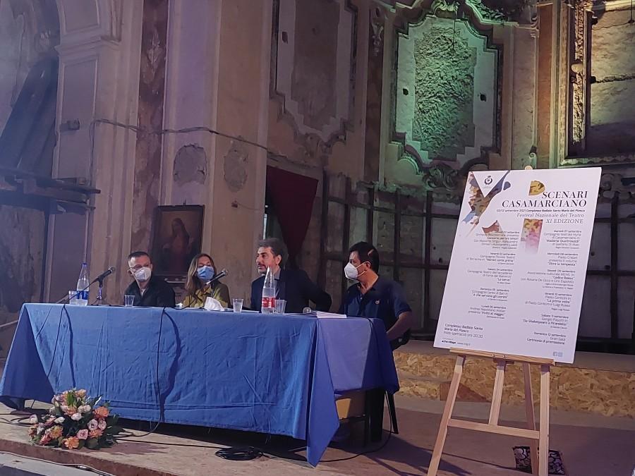 """Casamarciano: """"Scenari"""". Presentato il cartellone di eventi del festival nazionale del teatro."""