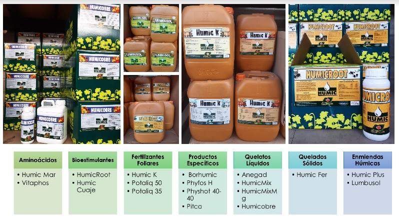 ¿Conoce los productos Humic?