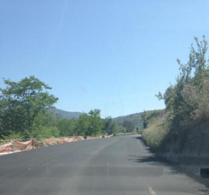 via del mare asfaltata