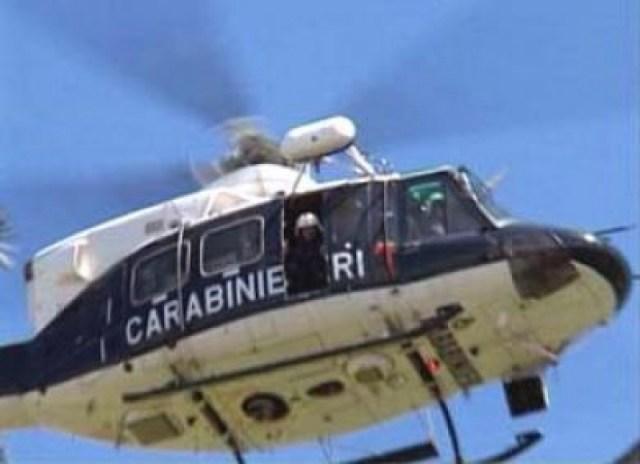 elicottero carabinierii