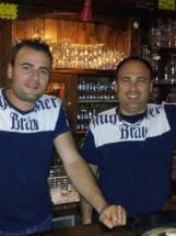 Fabio Bianco a sinistra e Damiano Sodano a destra