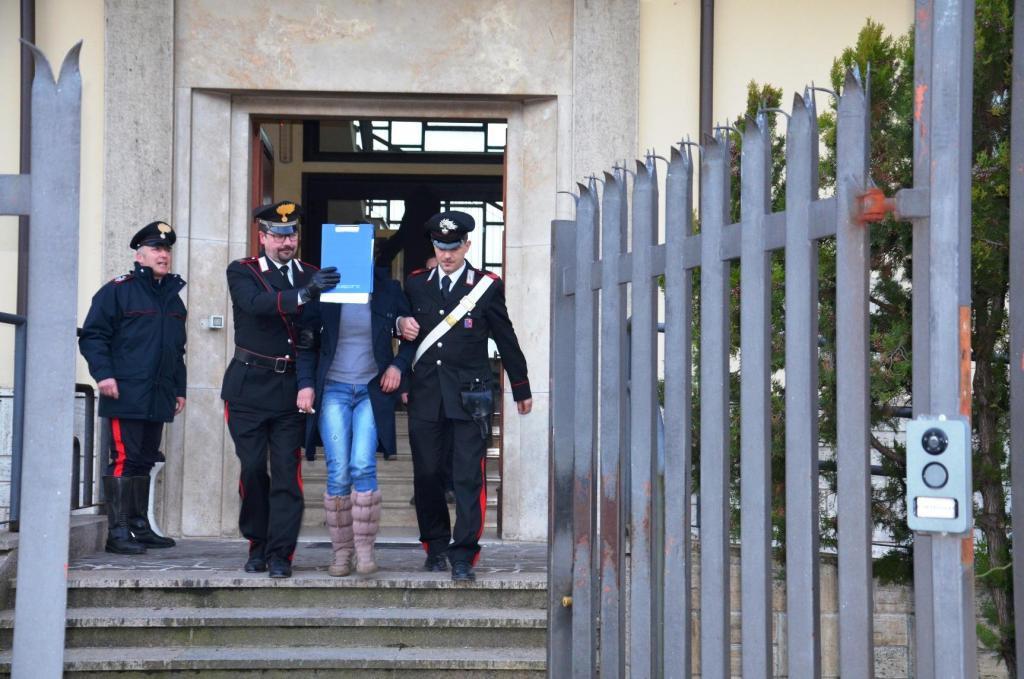 Donna-arrestata-dai-Carabinieri