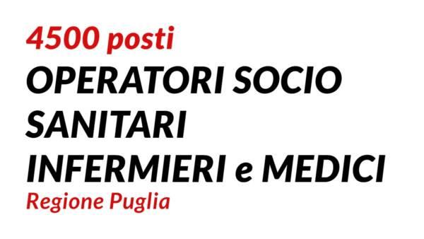 4500-posti-OSS-INFERMIERI-e-MEDICI-Regione-Puglia