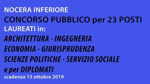 5799-23-posti-concorso-per-laureati-e-diplomati-comune-di-nocera-inferiore-settembre-2019