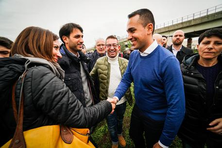 "Italian Foreign Minister, Luigi Di Maio takes part in a demonstration against climate change ""Alberi per il futuro"" (trees for future)  at public park in Casoria, Naples region, Italy, 16 November 2019 ANSA/CESARE ABBATE/"