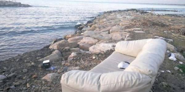 divano vista mare