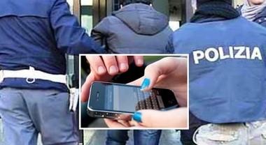 SALERNO, SCIPPA IL TELEFONINO AD UNA DONNA ARRESTATO