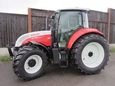 Traktor Steyr Multi 4115 ETTraktor 4Radantrieb