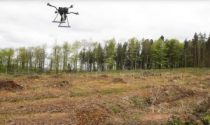 drones en la reforestación del ríoIrrawaddy