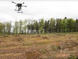 Drones usados en reforestación en el río Irrawaddy