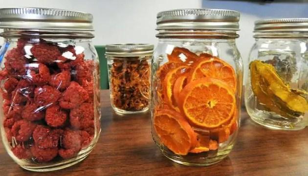como hacer fruta deshidratada