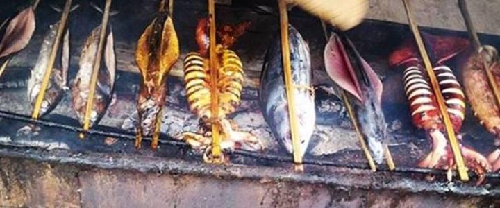 Ikan laut sebagai bahan baku produksi