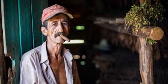 Man cigar