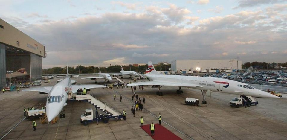 Soon, the Concorde became the preferred airborne choice of the rich and famous.