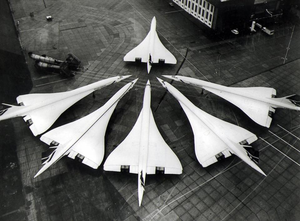 Because of environmental and economic concerns stemming from the 1973 oil crisis, most of the Concorde's customers dropped their orders.