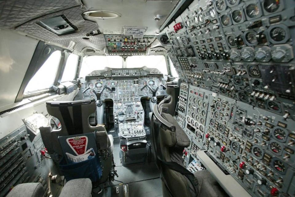 The Concorde was operated by a crew of three: two pilots and a flight engineer.
