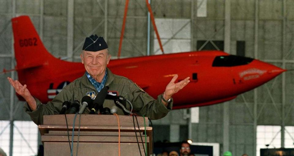 As soon as Chuck Yeager crossed the sound barrier in 1947, commercial aviation companies began planning to take passengers past Mach 1.