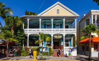 Key West is one of the most eccentric and seductive cities in the nation. Don your tropical linen shirts with pride and check out one of the colorful artist havens, such as Studios of Key West, newly relocated to Eaton Street. Or perhaps catch a show at the new resident theater company, On the Rock. Score: 84.983