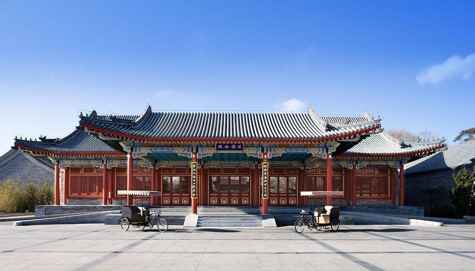 Arrival Pavilion Aman at Summer Palace, China