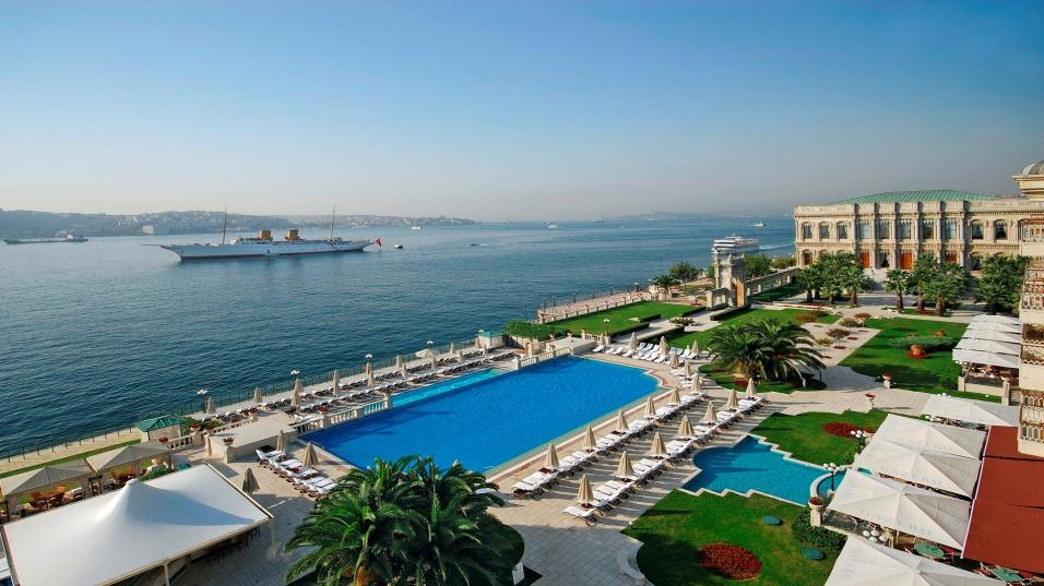Ciragan Palace Kempinski and Bosphorus, Istanbul