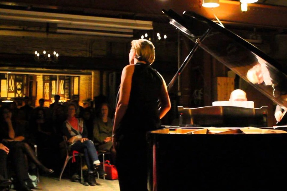 Liza Bagrationi performing at Piano Salon Christophori