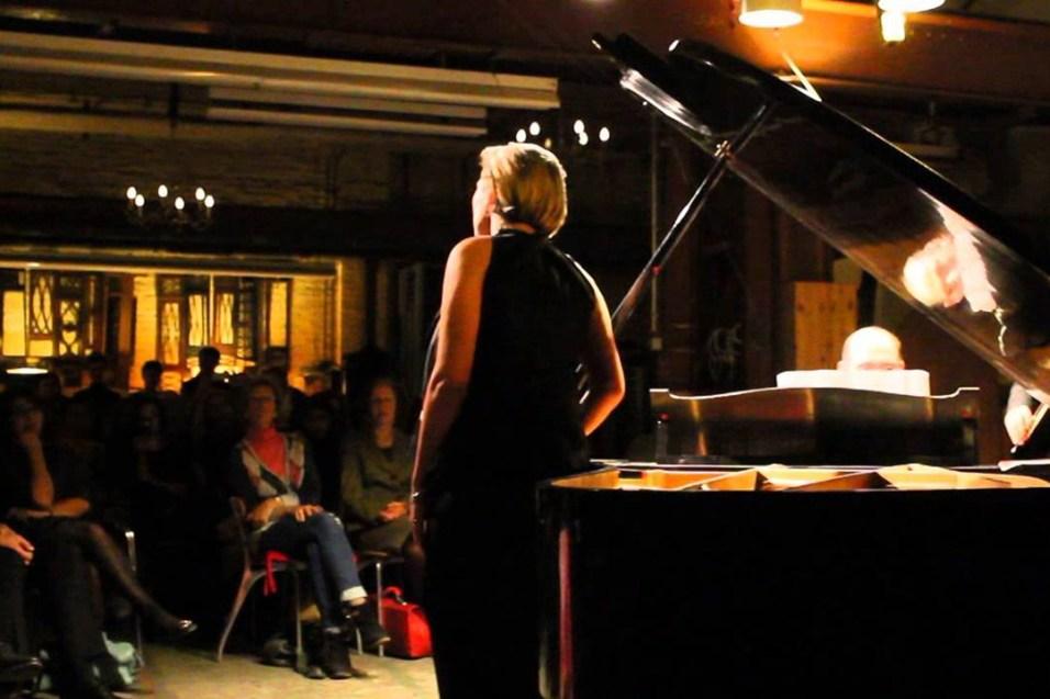 Liza Bagrationi performing at Piano Salon Christophori