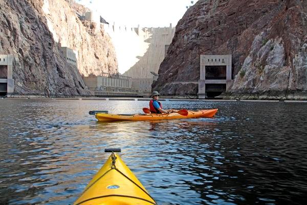 Kayak Hoover Dam, Las Vegas