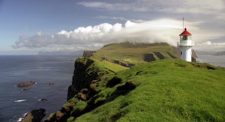 Mykines, in the Faroe Islands.