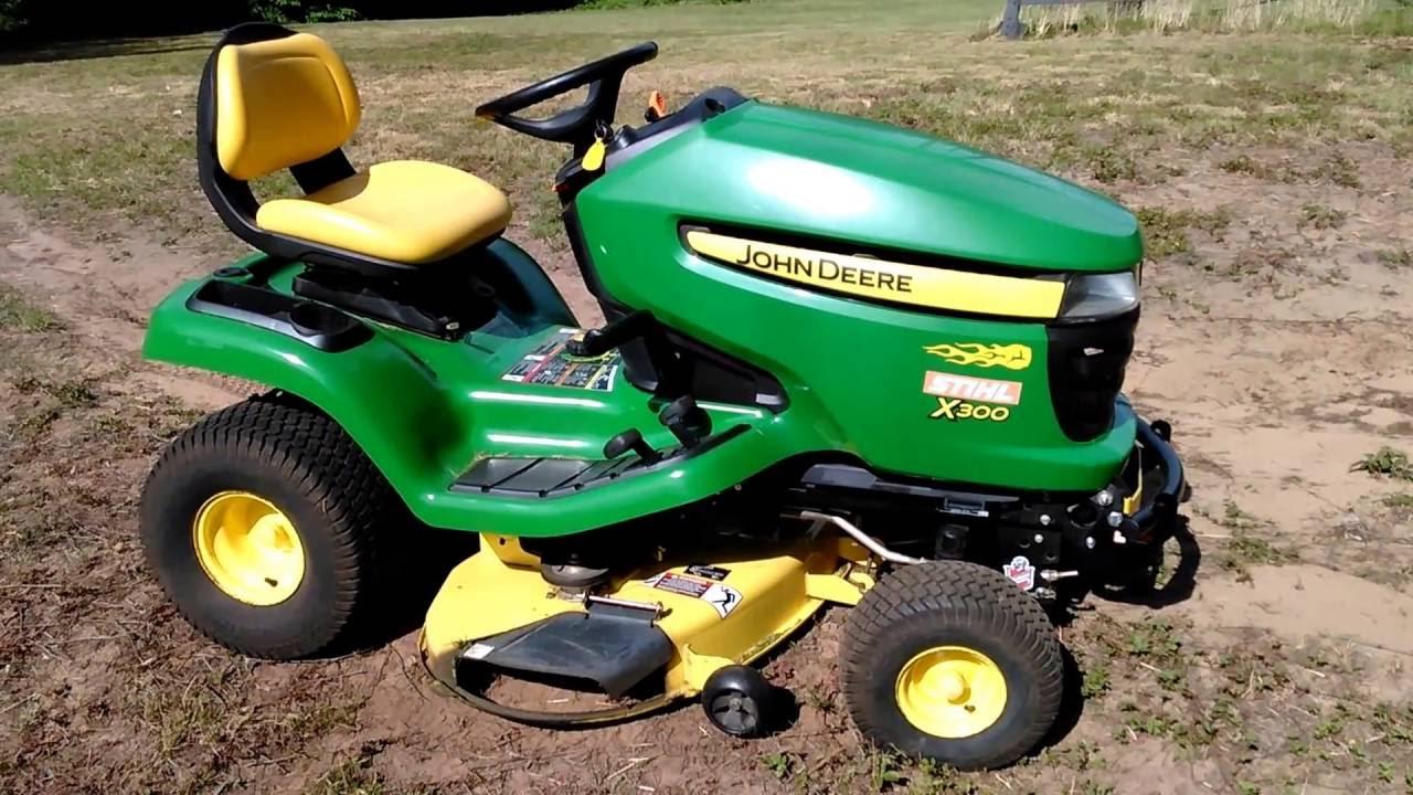 hight resolution of john deere updates their x300 u0026 x500 series lawn mowers john deere x500 mower blades