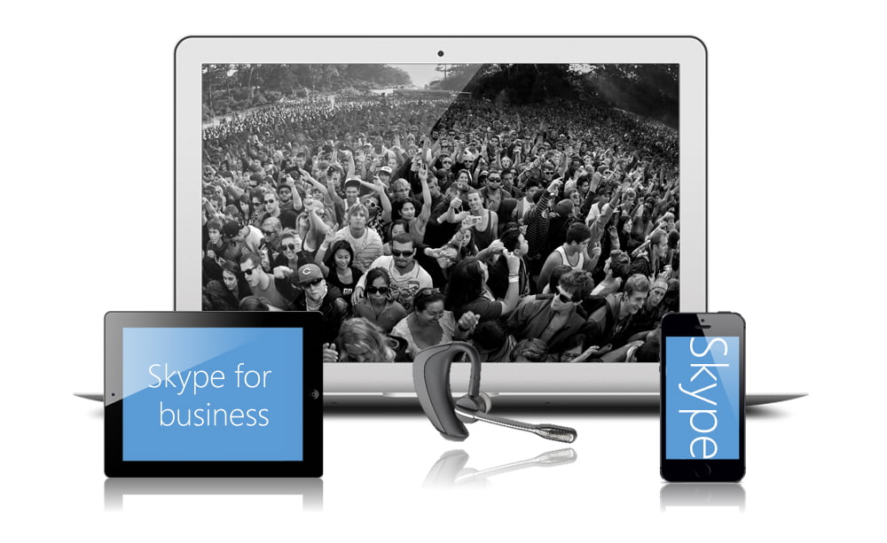Skype for business med telefoni