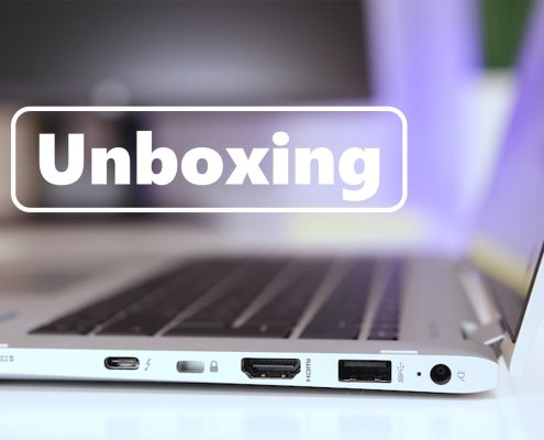 Unboxing og test HP Elitebook x360 thumb 2