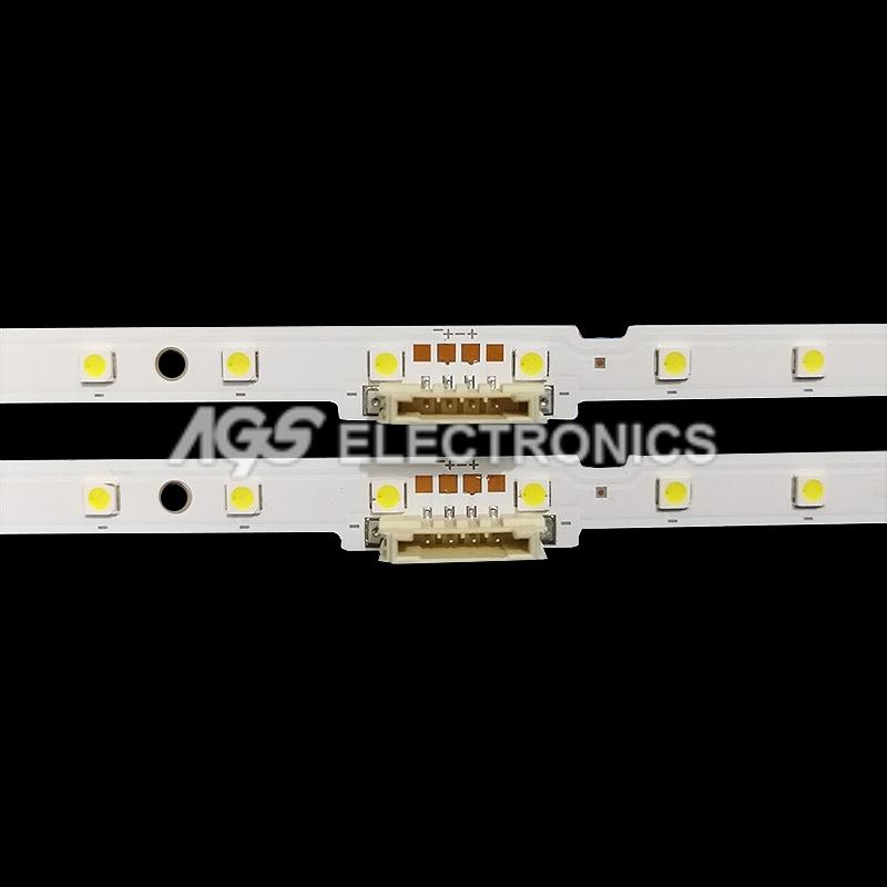 Kit 2 Bars Strip 54 LED TV Samsung v8n1-650sm0-r0 lm41-00614a un65nu7300   eBay