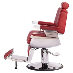 Barber Chair Free Shipping Folding Electric Quotconstantine Quot In Cardinal Red