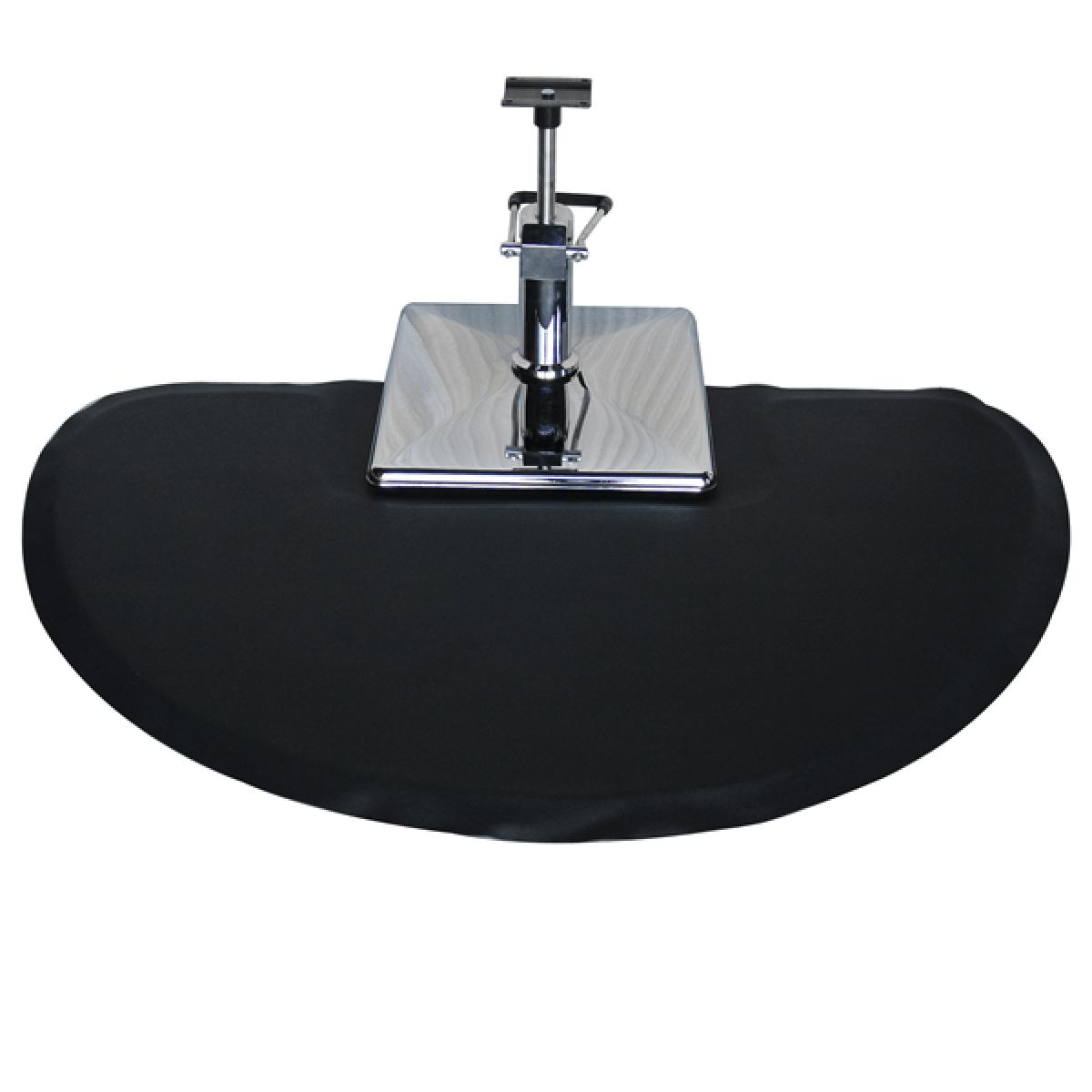 salon chair mat bean bag filler kmart round floor for square base