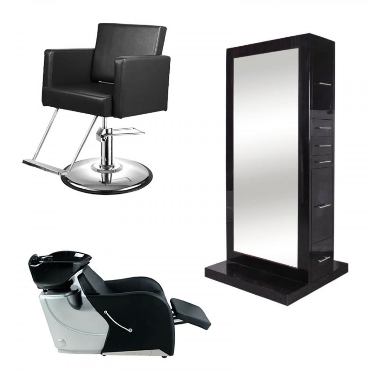 wholesale barber chairs kneeling posture chair ikea salon equipment package furniture