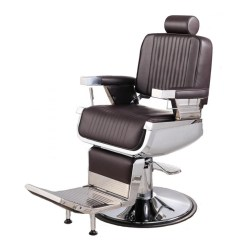 Keller Barber Chair Parts For Hemorrhoids Constantine In Soft Chocolate Brown Chairs Free Shipping