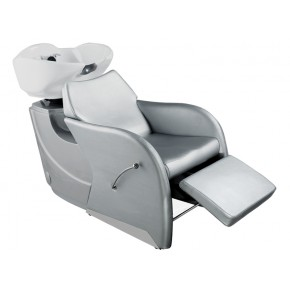 shampoo sink and chair wheelchair jumia salon bowls chairs sinks backwash units odessa bowl in silver for sale