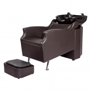 shampoo sink and chair bedroom modern salon bowls chairs sinks backwash units island unit in soft chocolate free shipping