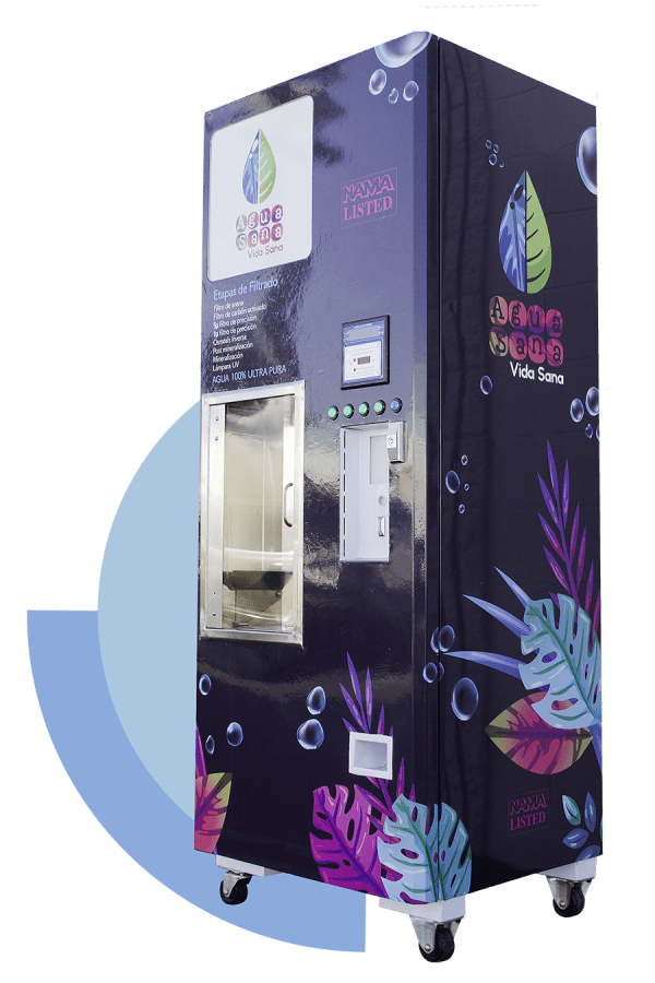 Alkaline water vending machines