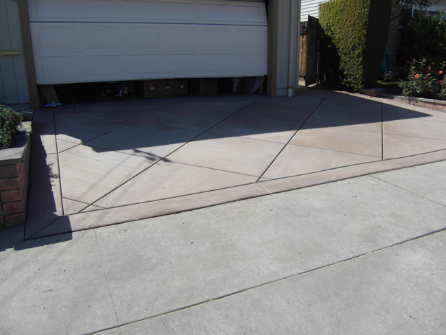 Concrete Driveway in San Diego