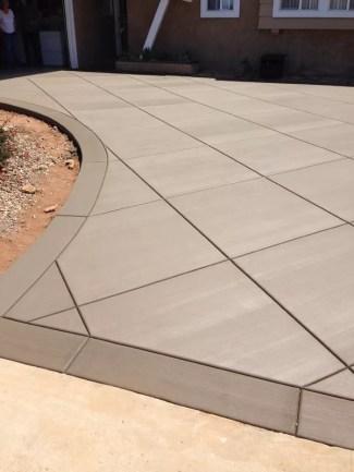 Concrete Diamond Pattern in San Diego