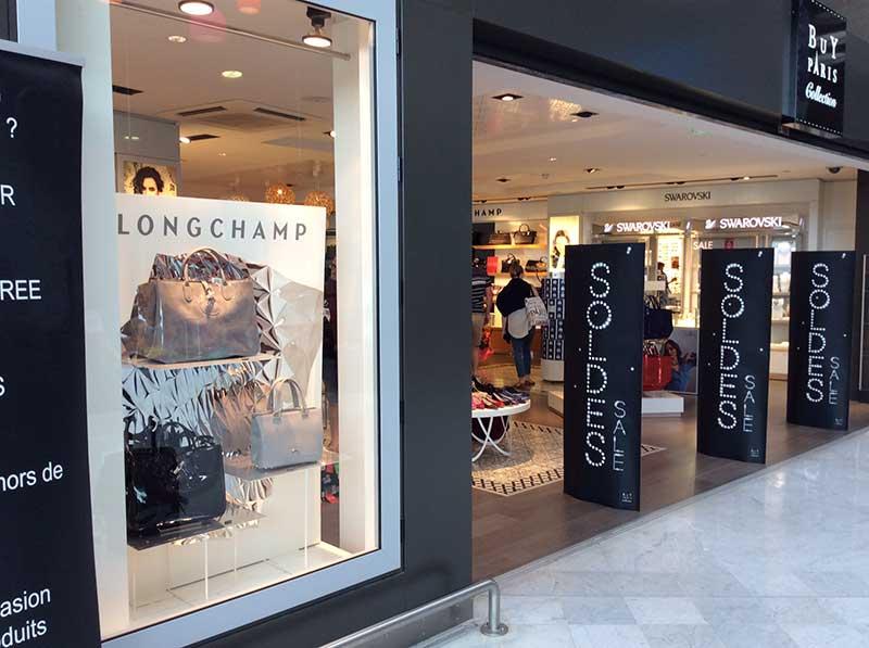 Visual Merchandising display