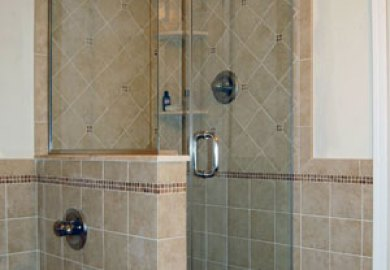 Bathroom Corner Showers